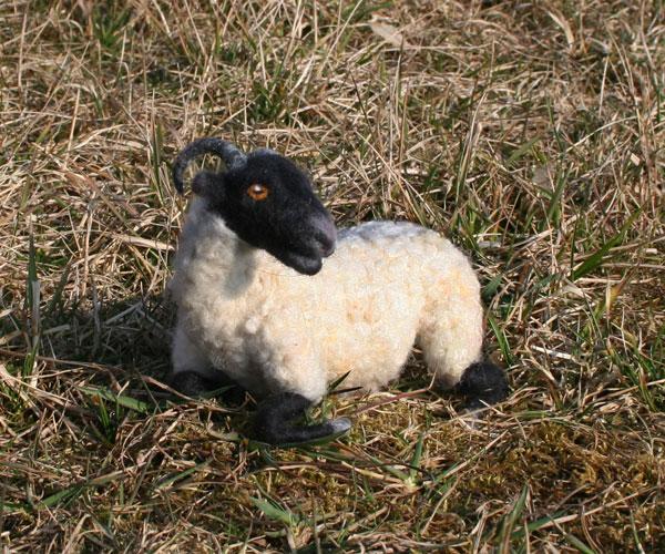 Skulptur Schaf