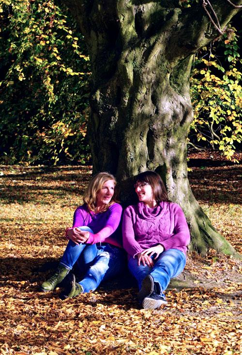 Team Wege-zum-Tier Tanja und Danielaa